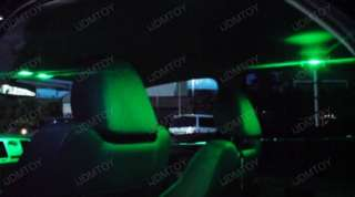 White 12 pieces SMD LED panel lights for car interior dome lights