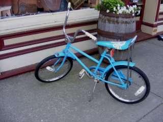 Blue Child Girls WESTERN FLYER BikeMaster Bike Bicycle w/ Banana Seat
