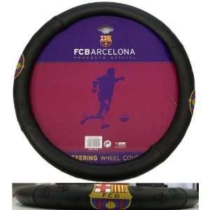 Barcelona Football Soccer Club   Steering Wheel Cover