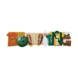 Karen Foster Bowling Stacked Statement Sticker 2.5X9