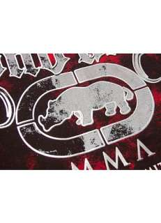 NEW ECKO Unltd. MMA UFC Burst T Shirt L Red
