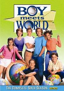 Boy Meets World The Complete Sixth Season DVD, 2011, 3 Disc Set