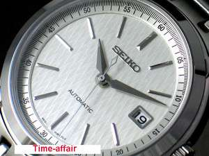 SEIKO MEN AUTOMATIC SAPPHIRE CRYSTAL STEEL WATCH SRP021
