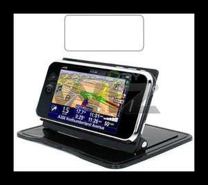 IPHONE 4S STICKY PAD CAR DASH MOUNT STAND AUTO DASHBOARD HOLDER DOCK