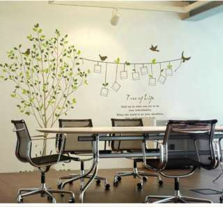 Decorative Wall Paper Sticker Decal Photo tree 2.6x1.5m