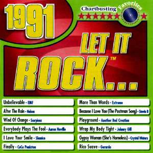 Let It Rock 1991, Various Artists   Hard Rock Music for
