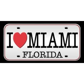 KAUFMAN   I love Miami Plate Beach, Bath, Pool Towel. Perfect for