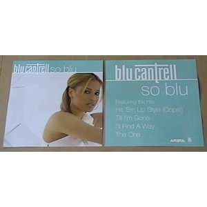 Blu Cantrell Album Cover Poster Flat