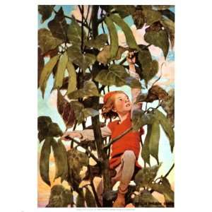Jack and the Beanstalk Giclee Poster Print by Jessie Willcox Smith