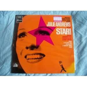 JULIE ANDREWS Star UK LP 1968 Julie Andrews Music