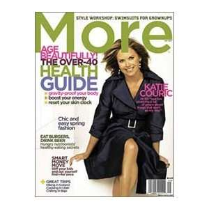 More Magazine, May, 2007 (Katie Couric): Peggy Northrop: Books