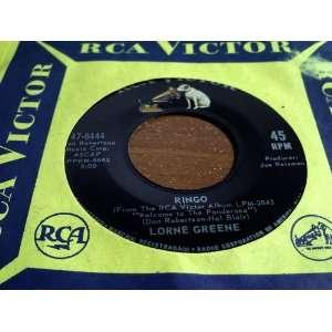 Ringo/Bonanza Lorne Greene Music