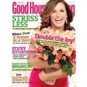 May 2012 (DOUBLE THE JOY MARISKA HARGITAY) HEARST Books