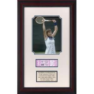 Martina Navratilova 1977 Virginia Slims Memorabilia