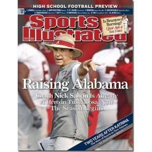 Nick Saban University of Alabama 2007 issue Coach Nick Saban