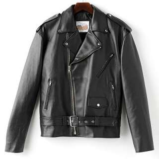 Excelled Leather Motorcycle Jacket   Big and Tall