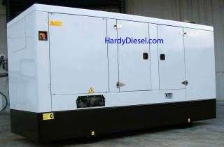 John Deere powered 85 kW Generator Enclosed Diesel
