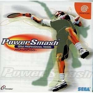 Power Smash Sega Professional Tennis [Japan Import