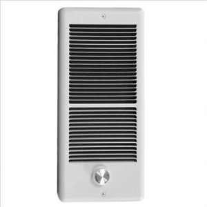240v Fan Forced Wall Heater w/ Wall Box Color / BTU White / 3,413 btu