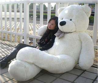 New Fashion Giant Huge Big Stuffed Animal Teddy Bear Toys white   US