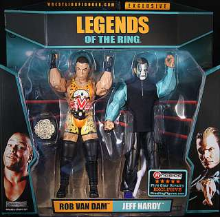FIVE STAR RIVALRY   JEFF HARDY & RVD   RINGSIDE EXCLUSIVE