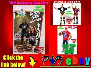 WWE WWF John Cena Action Figure Wrestler Toy Raw Elite Mattel Wrestle