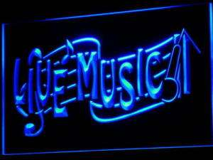i546 b Live Music Bar Lounge Club Beer Neon Light Sign