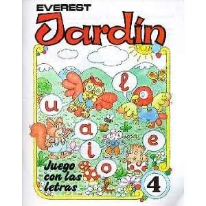 JARDIN JUEGO CON LAS LETRAS 4 (9788424161187): AURORA DE