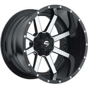 Fuel Maverick 22x10 Machined Black Wheel / Rim 6x4.5 & 6x5
