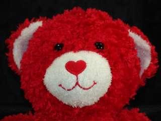 Retired Build Bear Hugs Kisses Red Heart Love gallery