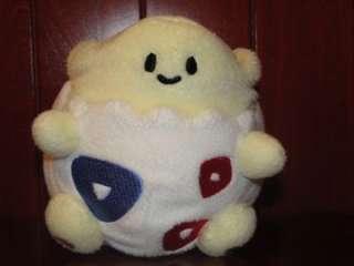 Pokemon TOGEPI Plush 2006 USA Nintendo Stuffed Toy Yellow White Blue