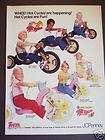 1979 HOT Wheel CYCLE kids Bike JC Penney Vintage Ad