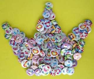 New Hello Kitty badge pin 102 pcs dia 2.5cm Random
