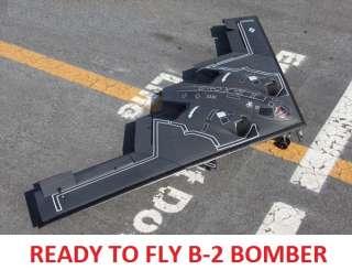 READY TO FLY B 2 Spirit Stealth Bomber RC Jet Plane EDF