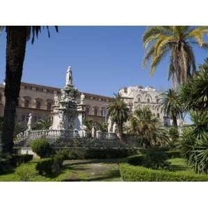 Palazzo Dei Normanni, Piazza Della Vittoria, Palermo, Sicily, Italy