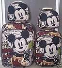 Disney Mickey Mouse Luggage Bag Baggage Trolley Roller Set 24