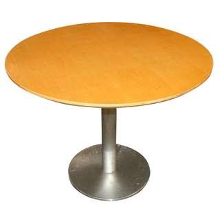 36 Mid Century Modern Bernhardt Dining Round Table |