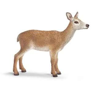 Schleich Red Deer Cow 14630: Toys & Games