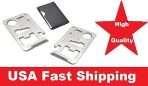 Credit Card Survival Knife Camping Tool Stainless Steel Free Shipp