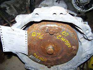 2007 Dodge Charger Automatic Transmission 09H006