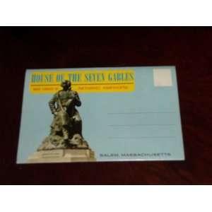 Postcard Souvenir Folder House of The Seven Gables