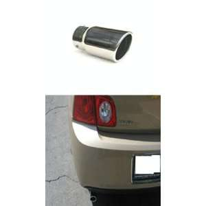 Stainless steel exhaust tip w/ mirror polish finish   Chevy Malibu 08