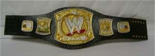 THE WWE TITLE Painted action figure belt CM Punk Jericho John Cena