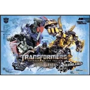 Transformers 2   Autobots Thin Profile Framed 24x36 Movie