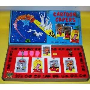 ORIGINAL VINTAGE 1971 CARTOON CAPERSANTIQUE BOARD/CARD GAME