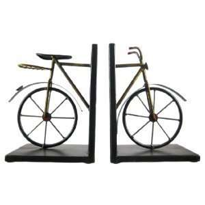 Cool Metal Vintage Bicycle Bookends Book Ends Bike