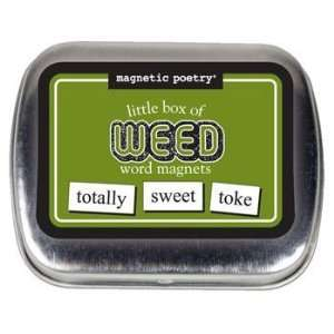 Magnetic Poetry: Little Box Of Weed Words: Kitchen & Dining